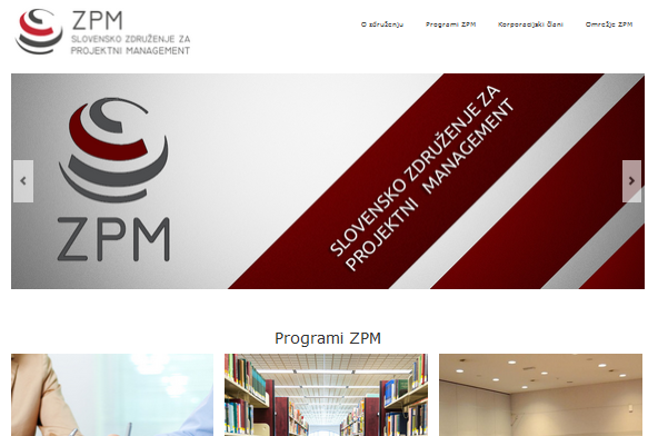Prenova grafične podobe in programov ZPM